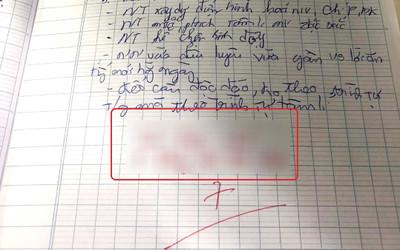 Cho học sinh 7 điểm kiểm tra môn Văn nhưng cô giáo lại để lại lời phê khiến nhiều người thấy mâu thuẫn