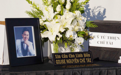 Chính thức phát tang nghệ sĩ Chí Tài tại Mỹ, khuôn viên tưởng nhớ gây xúc động