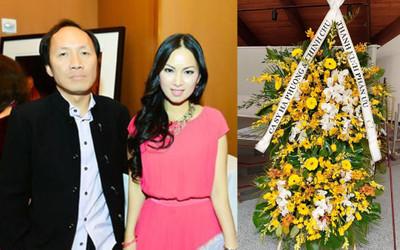 Em gái tỷ phú của Cẩm Ly viếng tặng 50 ngàn đô la cho đám tang cố NS Chí Tài