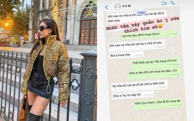 Hotgirl Meo Meo khoe chồng Việt kiều cưng chiều hết mực: Gửi vợ 1 tỷ, còn muốn tặng áo 15.000 đô