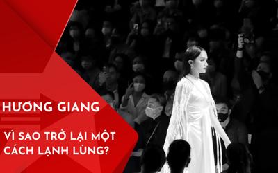 Vì sao Hương Giang quay trở lại showbiz lạnh lùng sau lùm xùm Anti-fan?