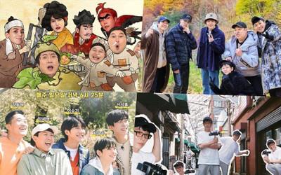 Các show tạp kỹ Hàn Quốc nổi bật của năm 2020: Running Man có còn độc tôn?