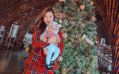 Nàng WAGs Võ Nhật Linh khoe nhan sắc 'gây thương nhớ' dịp lễ Noel