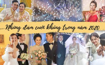 Những đám cưới đình đám năm 2020 khiến nhiều người xuýt xoa vì độ chịu chơi của cô dâu chú rể