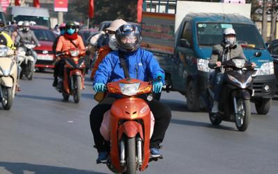 Cửa ngõ thủ đô Hà Nội ùn tắc, nhiều tuyến đường trung tâm vắng tanh trong ngày đầu tiên năm 2021