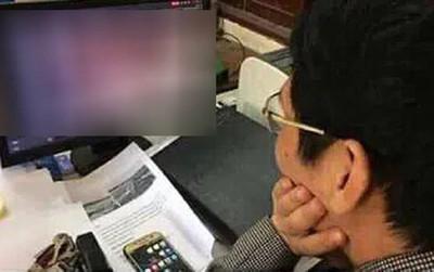 Coi thi nhưng thầy giám thị chỉ chăm chú xem thứ này trên màn hình, sự thật khiến học trò 'khóc thét'