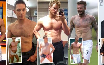 Từ Chris Pratt đến David Beckham: 'Gừng càng già càng cay' quả thực không sai chút nào!