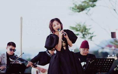 Văn Mai Hương hát live liên tục hơn 20 bài giữa cái lạnh 'cắt da' của Đà Lạt