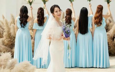 Primmy Trương tung ảnh cưới cùng dàn phụ dâu 'tiền tỉ' toàn hoa hậu, diễn viên, rich kid