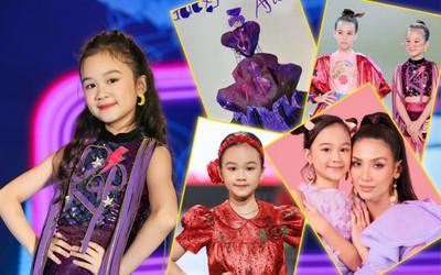 Minh Anh đội MimiMama: Học trò siêu mẫu Võ Hoàng Yến, đạt giải xuất sắc thiết kế thời trang nhí