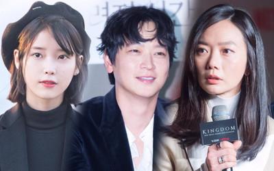 IU bén duyên với Kang Dong Won và Bae Doona trong phim mới