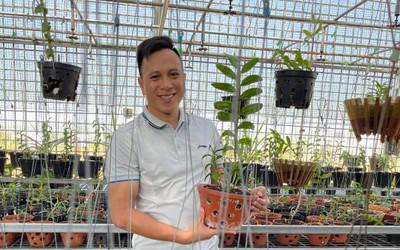 Ông chủ vườn lan Hạo Hạo và câu chuyện khởi nghiệp từ lan đột biến