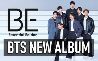 Vừa phát hành phiên bản mới của album 'BE', BTS liền rinh cú đúp thành tích tại Hàn lẫn Nhật