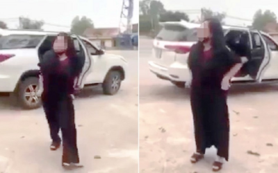 Người phụ nữ cởi đồ trước cổng đền: Tố cáo ngược bị nhân viên xúc phạm danh dự?