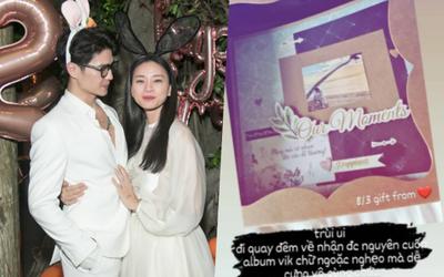Ngô Thanh Vân chia sẻ món quà 'handmade' tự tay Huy Trần chuẩn bị dịp 8/3