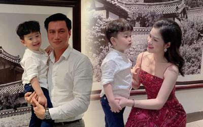 Việt Anh tiếp tục 'tái hợp' vợ cũ cùng tổ chức sinh nhật cho con trai