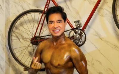 Danh ca Ngọc Sơn gây 'choáng váng' với body cuồn cuộn cơ bắp ở tuổi ngoài 50