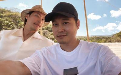 Fan trầm trồ với lần hiếm hoi Quang Vinh và Lý Quí Khánh xuất hiện chung một khung hình