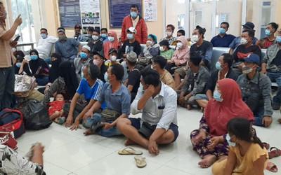 Phát hiện, cách ly tập trung 61 người nhập cảnh trái phép khu vực biên giới