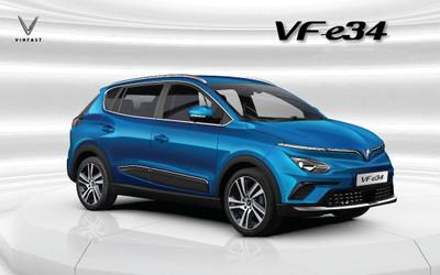 VinFast mở bán ôtô điện đầu tiên, sạc đầy pin đi được 300km