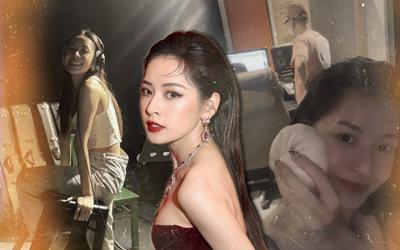 Liên tiếp đăng story 'làm lụng chăm chỉ' trong phòng thu, Chi Pu thật sự sắp comeback làng nhạc?