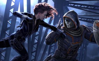 Taskmaster từng suýt nữa 'sấp mặt' với chị đẹp Black Widow