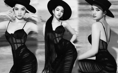Say nắng vì nhan sắc hoàn mỹ của Cẩm Đan trong bộ ảnh thời trang đen trắng
