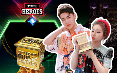 Orange hay K-ICM sẽ gia nhập đường đua The Heroes 2021 với gợi ý 'chiếc cúp vàng MAMA'?