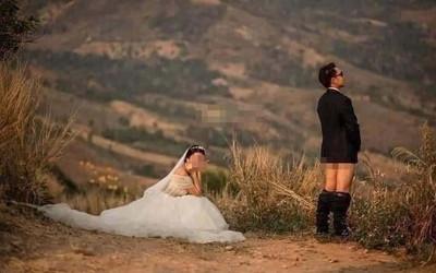 Chụp ảnh cưới phản cảm, cặp đôi bị dân mạng ném đá tơi bời