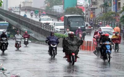Mưa lớn ở trung tâm TP HCM, ngày mai nhiệt độ Hà Nội có thể lên tới 31 độ C
