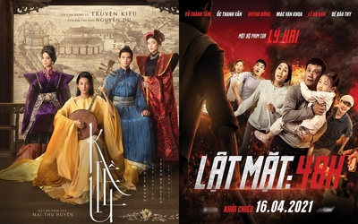 'Lật mặt: 48H' chưa ra mắt mà doanh thu đã ăn đứt phim 'Kiều' của Mai Thu Huyền?
