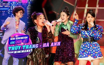 Hồ Hoài Anh - Lưu Hương Giang cùng 2 trò cưng Thùy Trang - Hà Anh mang vũ điệu Daddy Cool khuấy đảo chung