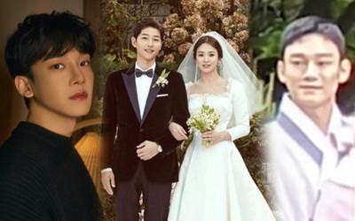 Rò rỉ ảnh Chen (EXO) bế con gái tại nơi tổ chức đám cưới Song Hye Kyo