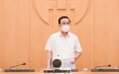 Phó Chủ tịch Hà Nội yêu cầu đẩy nhanh xét nghiệm, truy vết: 'Chậm giờ nào thì đuổi theo rất khó khăn'