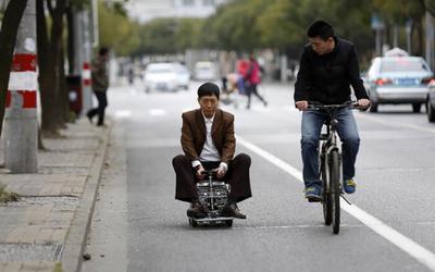 Tròn mắt với những chiếc xe kì lạ chỉ có ở Trung Quốc