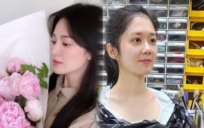 Song Hye Kyo 'đánh bại' nhan sắc Jang Nara ở tuổi 41