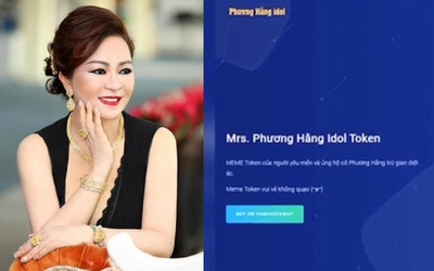 Nữ CEO Đại Nam cảnh báo cộng đồng mạng về nạn tiền ảo mang tên 'Phương Hằng Idol Token'