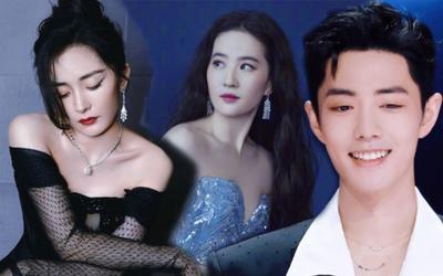 Ảnh bìa Tencent thể hiện địa vị sao Hoa Ngữ: Lưu Diệc Phi vượt Dương Mịch, Tiêu Chiến bị đẩy ra gần rìa