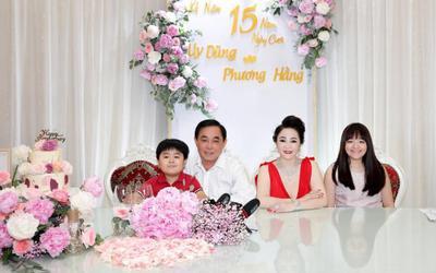 Nữ CEO Đại Nam tung bộ ảnh kỉ niệm 15 năm ngày cưới bên gia đình