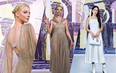 Jisoo Black Pink và 'nữ thần Hy Lạp' hạ phàm tại show Dior phủ sóng khắp mạng xã hội