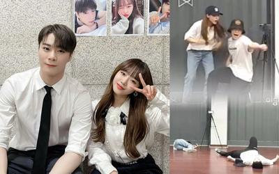 Lỡ tay spoil ca khúc chưa phát hành, đây là cách Yoojung (Weki Meki) và Moonbin (ASTRO) xử lý khủng hoảng