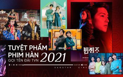 Tuyệt phẩm phim Hàn năm 2021 gọi tên đài tvN: 'Hospital Playlist' phá kỉ lục, 'Vincenzo' xếp sau đàn anh