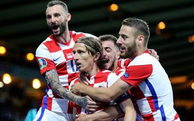 EURO 2020: Croatia vào vòng 1/8 với niềm cảm hứng Modric
