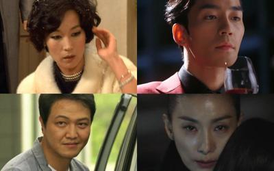 Top 10 nhân vật phản diện trong phim truyền hình Hàn Quốc xuất sắc nhất mọi thời đại