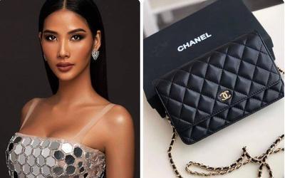 Á hậu Hoàng Thùy khoe tranh vừa mới vẽ, netizen vào gợi ý: 'Vẽ túi Chanel đi chị'