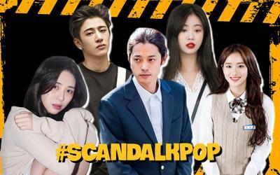 Điểm danh loạt scandal đen tối của idol K-Pop: bắt nạt học đường, phốt 'tiểu tam' tới sử dụng chất cấm