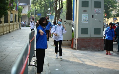 Phú Yên dừng 2 điểm thi do nghi ngờ có thí sinh nhiễm Covid-19