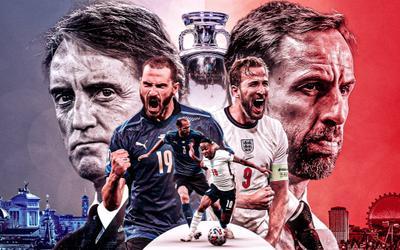 Nhận định Anh vs Italia, 02h00 ngày 12/7: Bây giờ hoặc không bao giờ!