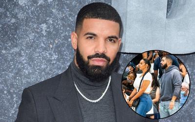 Đẳng cấp như Drake: thuê cả sân vận động để dẫn bạn gái đi ăn