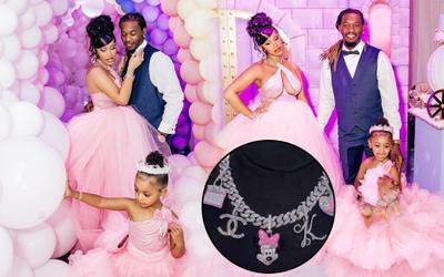 Tổ chức tiệc sinh nhật xa xỉ và sắm trang sức 3.5 tỷ cho con gái, Cardi B bị chỉ trích vì 'nuông chiều'